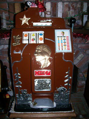Jennings 1 Star Chief Slot Machine