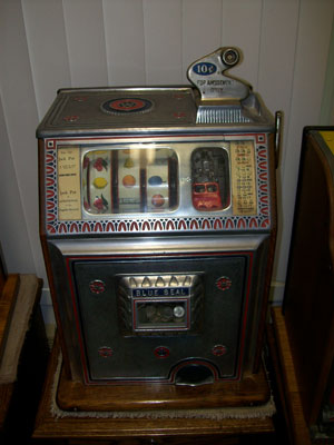 Antique Watling Blue Seal Slot Machine