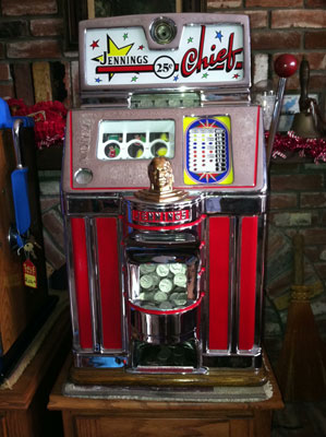 Jennings Chief Slot Machine