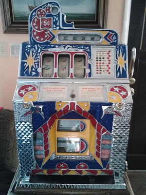 Mills FOK Antique Slot Machine